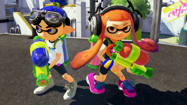 splatoon wii